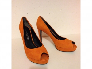 Kennel & Schmenger - Pumps - Nubuk orange