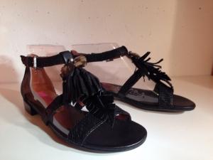 Jette Joop - Sandale - Leder schwarz