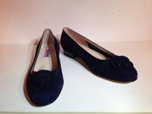 Valleverde - Ballerina - Wildleder - dunkelblau