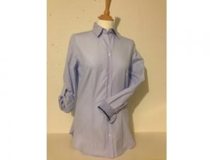 B.M.-company Blousemakers - Bluse Langarm - blau