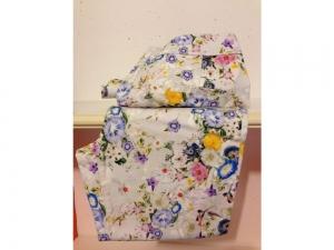 COTTON LINE - 3/4 Damenhose - Blumen-Print